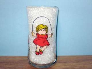 CABBAGE PATCH KIDS GLASS   1984