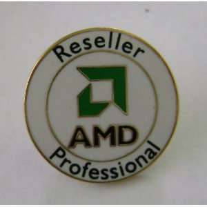 AMD Reseller Professional Button Pin Badge Automotive