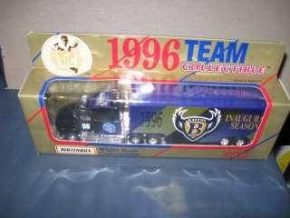 Baltimore Ravens Inaugural Truck 1996 Matchbox NFL