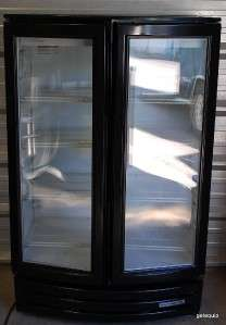Beverage Air MM14 commercial refrigerator cooler rounded front glass