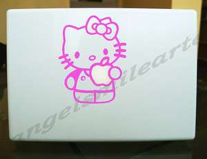Hello Kitty Pink Decal Sticker for Apple Macbook 131517 laptop