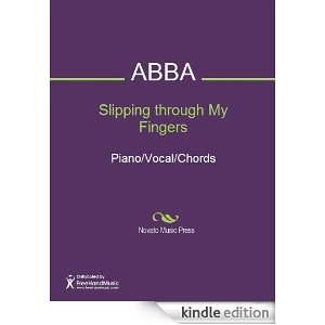 Slipping through My Fingers Sheet Music (Piano/Vocal/Chords) Benny