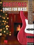 Christmas Songs for Bass Guitar Tab Sheet Music Book