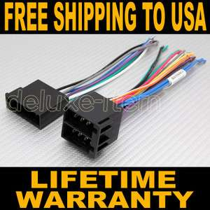 Car Stereo Radio Power Wire Wiring Harness Adapter for VW Volkswagen