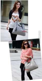 Korean style Lady Hobo PU leather women fashion handbag shoulder bag