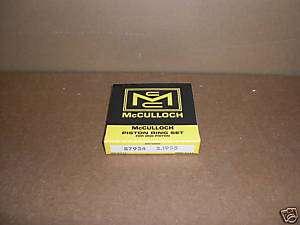Vintage McCULLOCH 87934 Ring Set Mc 93 92 +.030 Go Kart