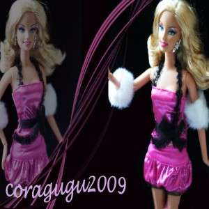C#17 New Fashion Outfit Clothes For Barbie Doll