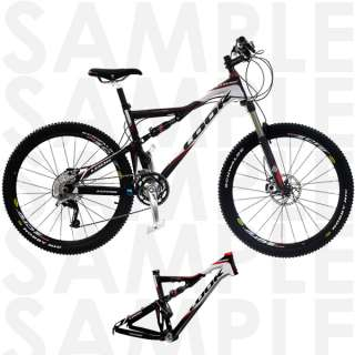 Look Carbon Mountain Bike Frame with Rock Shox Shock 19