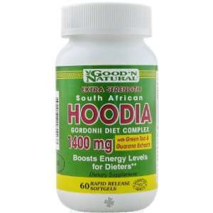 Good N Natural   Hoodia 1400 mg Complex with Green Tea and