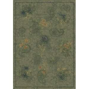 with STAINMASTER Vintage Cilantro Floral Rug 7.70.: Home & Kitchen