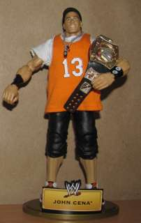 JOHN CENA wwe MATTEL DEFINING MOMENTS ELITE wrestling FIGURE wwf lot