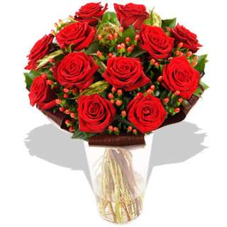 Dozen Red Roses Bouquet  FREE Delivery  Arena Flowers