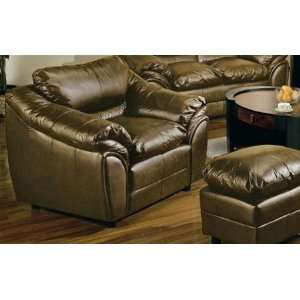 Concord Brown Leather Chair   Coaster Co.