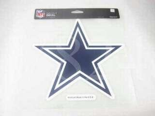 NFL Dallas COWBOYS 8x8 Die Cut Decal Sticker