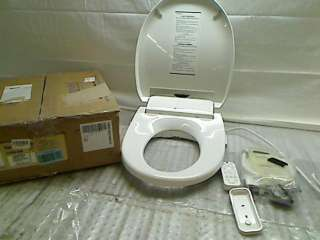 S1000 EW Swash 1000 Advanced Bidet Elongated Toilet Seat, White