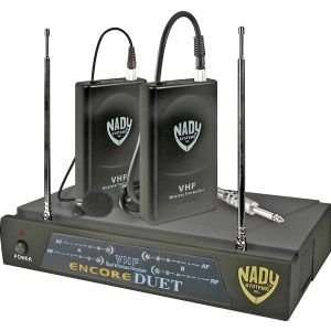 LT Two Channel VHF Wireless Lavaliere Microphone System   Frequencies