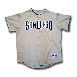 San Diego Padres MLB Replica Team Jersey by Majestic Athletic (Road