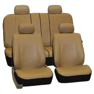 FH PU005114 Exquisite Leather Car Seat Covers, Airbag compatible and