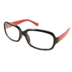 Como Women Men Orange Red Black Plastic Full Frame Plain