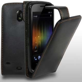 Leather Case Cover For Samsung Galaxy Nexus i9250 + Screen Protector