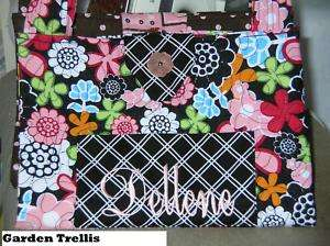 Bible Cover/rm for Bible,Notebk,Pen,Personalized GARDEN TRELLIS