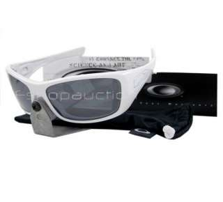 Oakley 12 776 HIJINX White Black Mens/Womens Sunglasses