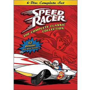 Speed Racer The Complete Classic Series Collection (Full