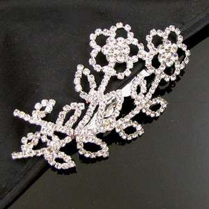 1 pc Austrian rhinestone fashion hair comb bridal