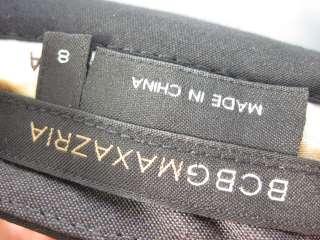 BCBG MAX AZRIA Black Dress Pants Sz 8