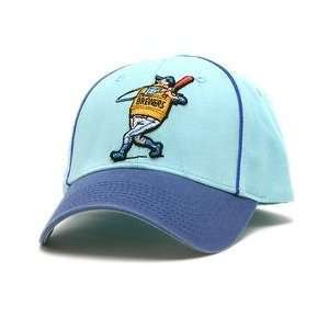 Milwaukee Brewers Retro Logo Pastime Cap   Royal/Carolina/White