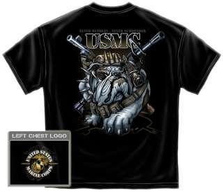 USMC Army Devil Dog Soldier T Shirt marine corps m16 m ak 16 rifle
