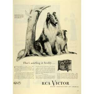 1945 Ad Radio Corporation America RCA Victor Phonograph