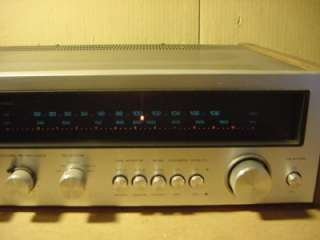 VINTAGE KENWOOD MODEL KR 4400 STEREO RECEIVER. WORKS GREAT AND IS IN