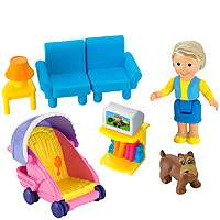 Fisher Price My First Dollhouse   Caucasian (Colors/Styles Vary