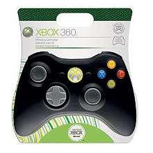 Wireless Controller for Xbox 360   Black   Microsoft
