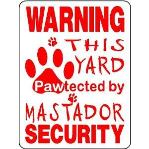 MASTADOR ALUMINUM DOG SIGN 3215: Everything Else