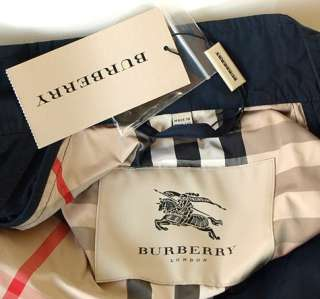 BURBERRY LONDON Auth New Mens Windbreaker Jacket sz L