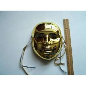 com Ceramic Mardi Gras Face Mask for Wall   102 Gold Everything Else