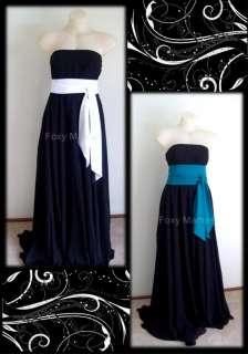FoxyMamas Maternity (or not) Black Minx Strapless Evening Dress, Gown