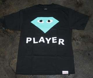 Diamond Supply Player shirt Wiz Mac Miller CurrenSy Jetlife Large L