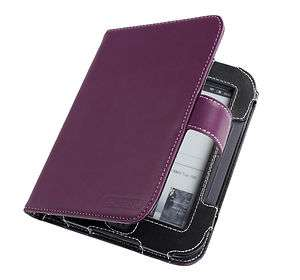 Cover Up Nook Simple Touch Reader Purple Leather Case