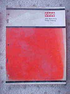 1969 Case Farm Tractor 400 Skid King Parts Catalog v