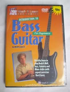 Watch & Learn Bass Guitar How to Play Lessons DVD