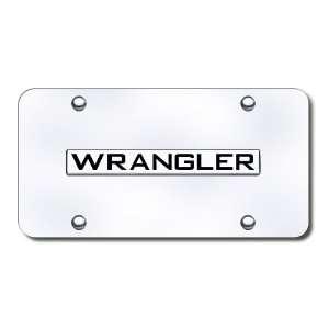 Jeep Wrangler Logo Front License Plate Automotive