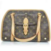 LOUIS VUITTON Monogram BAXTER PM Dog Pet Carrier Bag LV