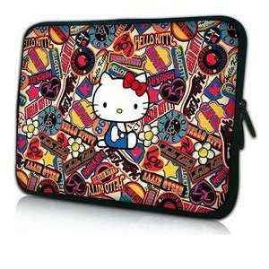 New 14 Hello Kitty Collage Style Laptop/Computer Bag with