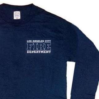 Los Angeles City Fire Dept. T shirt 3XL Long Sleeves