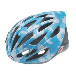 Bell Helmets Trigger Helmet   Girls Light Blue Flowers