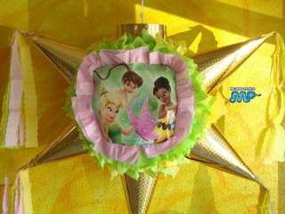 Pinata Princess Fairy Tinkerbell Star Shape Holds Candy