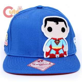 Funko Superman Pop Heroes Snapback Flat Bill Cap Baby Super Man